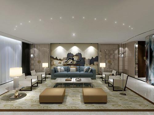 2017别墅客厅装修效果图大全 别墅中空客厅就该这样装
