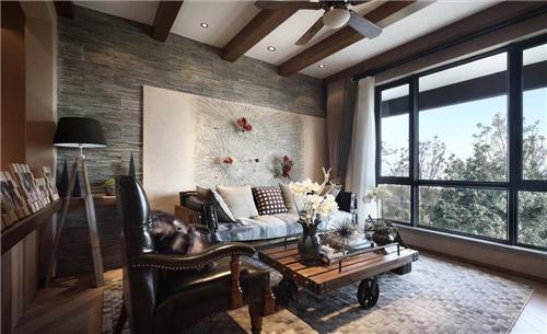室内设计效果图客厅 四款不同风格客厅装修图片