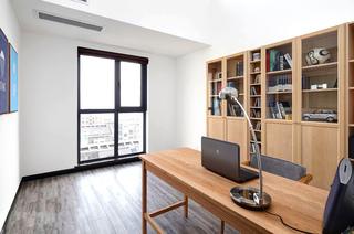 170平复式楼装修书房效果图