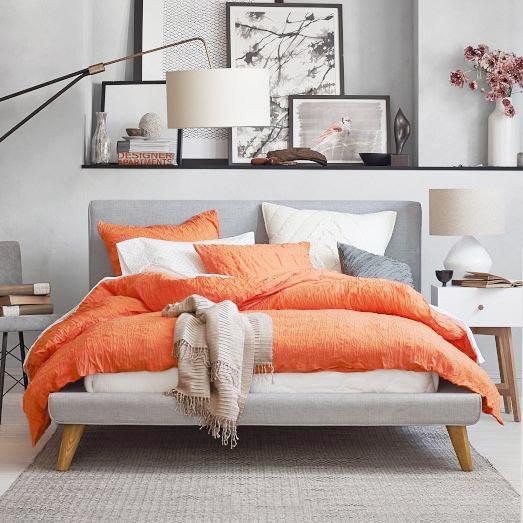 色彩拼接卧室设计实景图