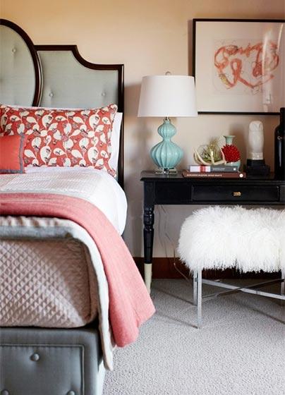 色彩拼接卧室设计参考图