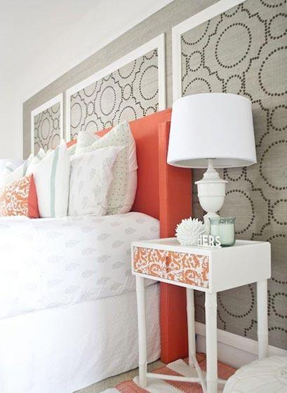 色彩拼接卧室装修图