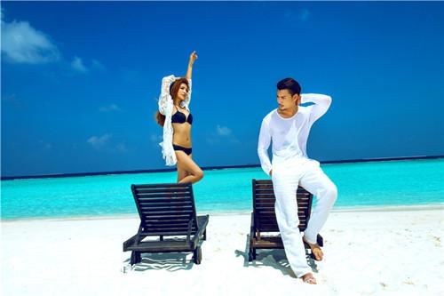 马尔代夫结婚照欣赏 国外婚纱照拍摄攻略