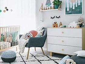 10个趣味儿童房背景墙装修效果图 快乐成长
