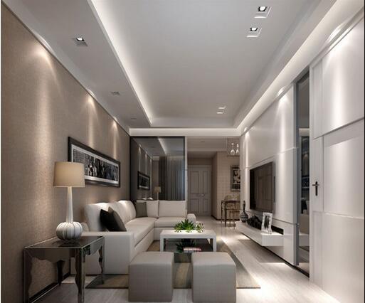 100平米房屋装修效果图 现代简约风装修设计