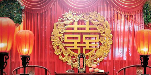 中国风婚礼怎么布置 中式婚礼现场布置图片