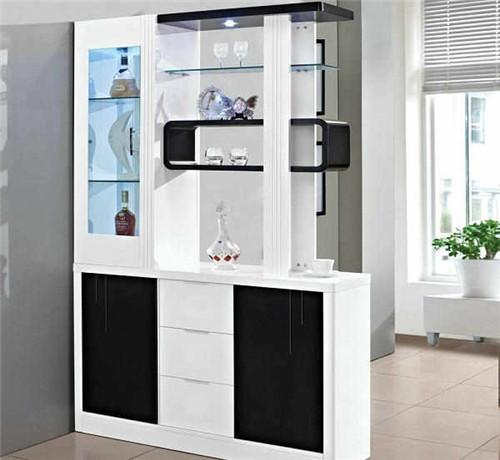 欧式隔断柜装修效果图 2017超炫酷的欧式隔断柜设计