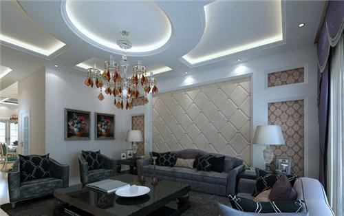 简约客厅吊顶效果图 装修客厅吊顶的注意事项有哪些图片