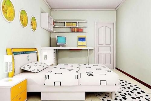 3平米小卧室装修图 小卧室尽显时尚范_按空间查看