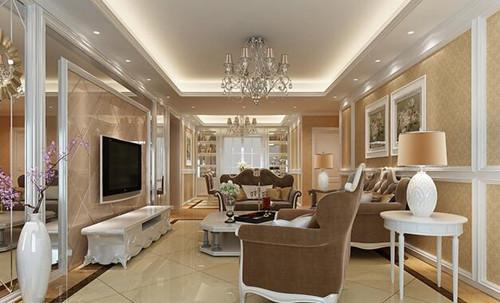 2017欧式客厅装修图 适合的装修风格图片