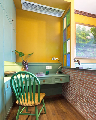 45平小户型一居小书房装修
