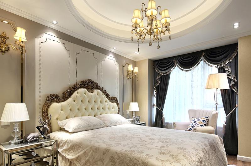 60平小户型一居卧室效果图