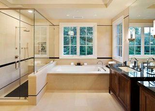 美式卫生间洗手池图片