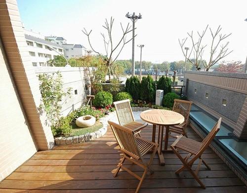 最美阳台设计效果图 家庭阳台花园设计你做对了吗