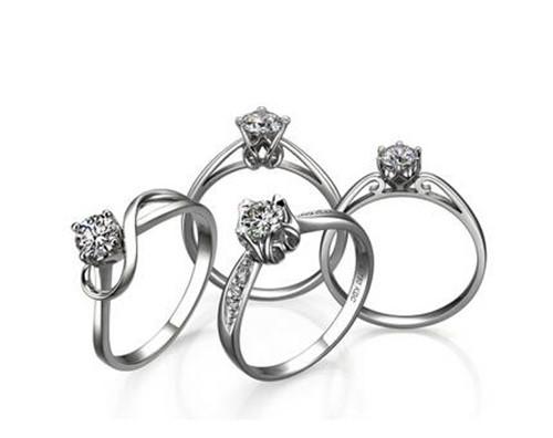 钻石戒指一克拉多少钱