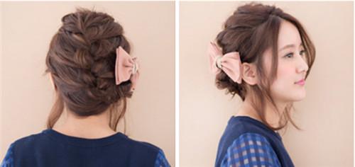 伴娘发型编发图片2017 伴娘发型如何编好看