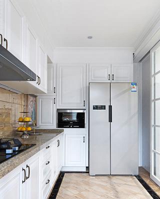 236平复式楼装修厨房实景图
