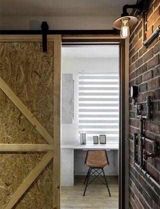 单身公寓创意木门设计图
