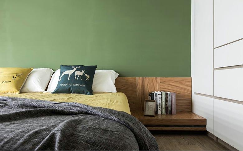 装修效果图 家居美图 创意卧室床头柜设计