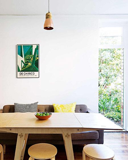 42平小户型一居餐厅装修设计