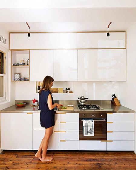 42平小户型一居整体厨房装修
