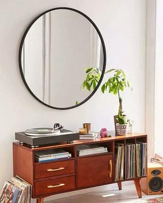 10个玄关装修镜子效果图 团团圆圆才是家3/10