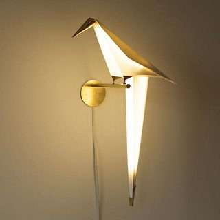 鸟型创意壁灯设计图片