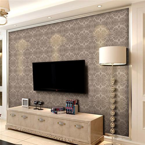 背景墙纸效果图 各种墙纸电视背景墙设计任你选