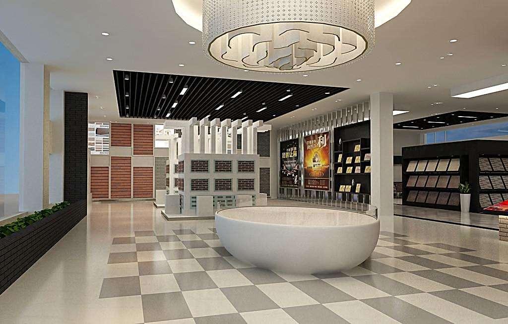 瓷砖展厅设计效果图大全欣赏_建材知识_学堂_齐家网图片