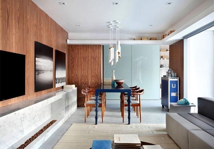 80㎡公寓设计整体效果图