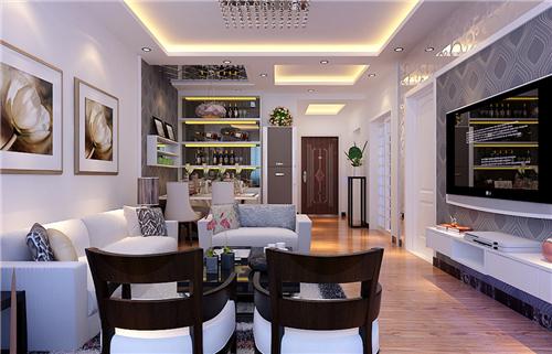 三房二厅装修效果图 10万打造简约三房装修