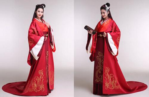 古代结婚礼服有哪些款式 中式婚纱礼服怎么搭配图片