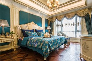190平欧式风格四房主卧室设计