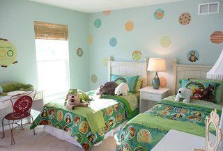 双人儿童房设计参考图图片