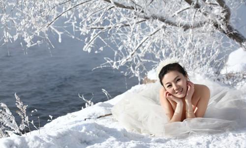冬天婚纱照外景怎么拍 拍婚纱照外景冷怎么办