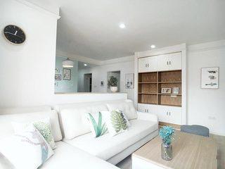 85㎡北欧风格两居室客厅图片