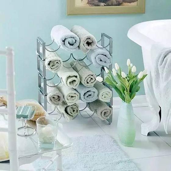 卫生间收纳架设计欣赏图片