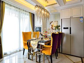 108平新古典风格二居室装修 气质女王的家