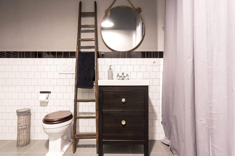 阁楼旧房改造装修卫生间设计
