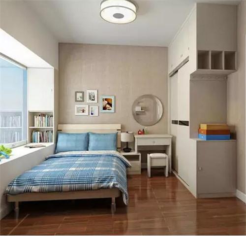 2017八平米小卧室装修图 这些小卧室竟然让你越睡越美
