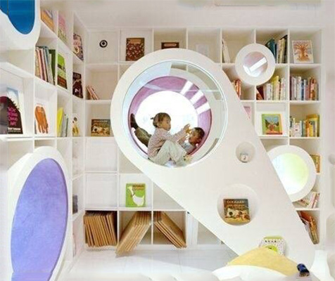 缤纷儿童活动室装修装饰效果图