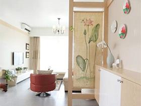 小小空间魅力家  10个小户型玄关设计图片