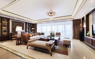 365平新东南亚风格客厅装修效果图