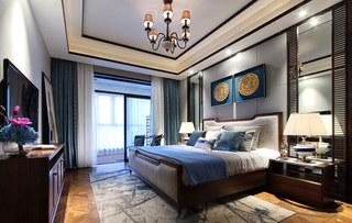 365平新东南亚风格卧室床头软包