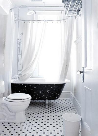 白色系卫生间装修欣赏图