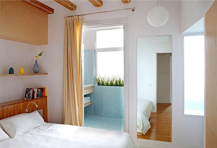 35平米小户型公寓卧室构造图