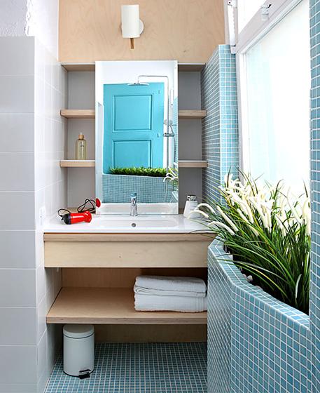 35平米小户型公寓卫生间效果图