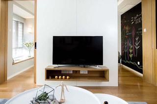 114平北欧风格三居电视柜图片