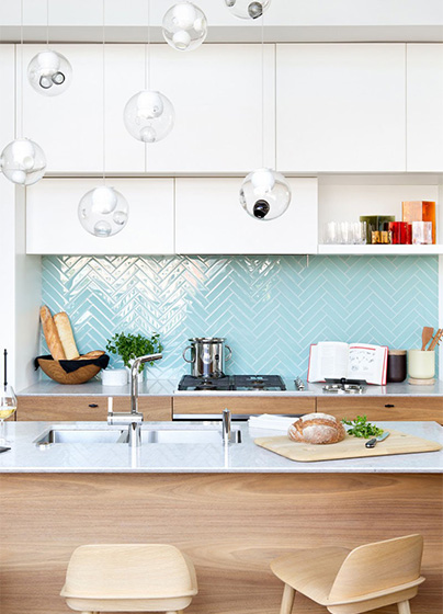 厨房墙面砖装修装饰效果图