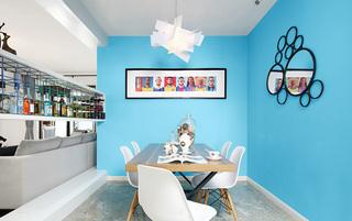 30万打造小户型餐厅平面图